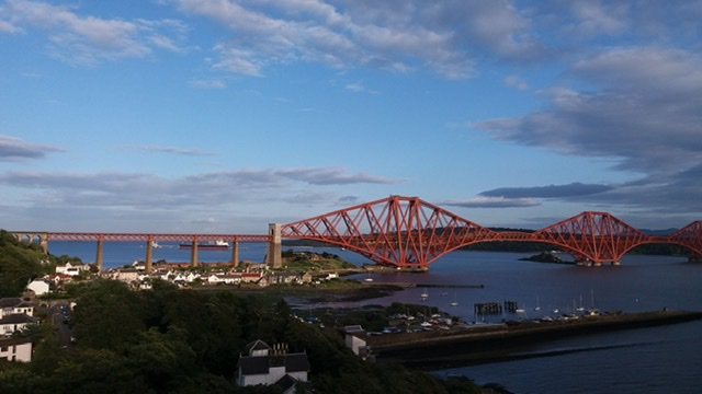 North Queensferry and Forth Bridge